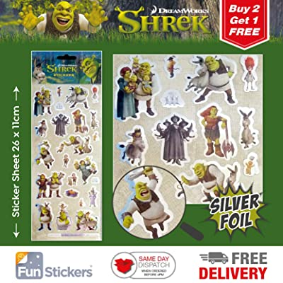 Dreamworks Shrek Sticker 1001: Kitchen & Dining