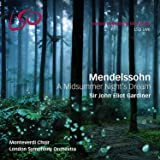 Mendelssohn: A Midsummer Night's Dream [SACD + Pure Audio Blu-ray]