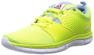 Reebok Women's Zquick Dash Running Shoes, Yellow (solar Yellowdenim Glowwhite