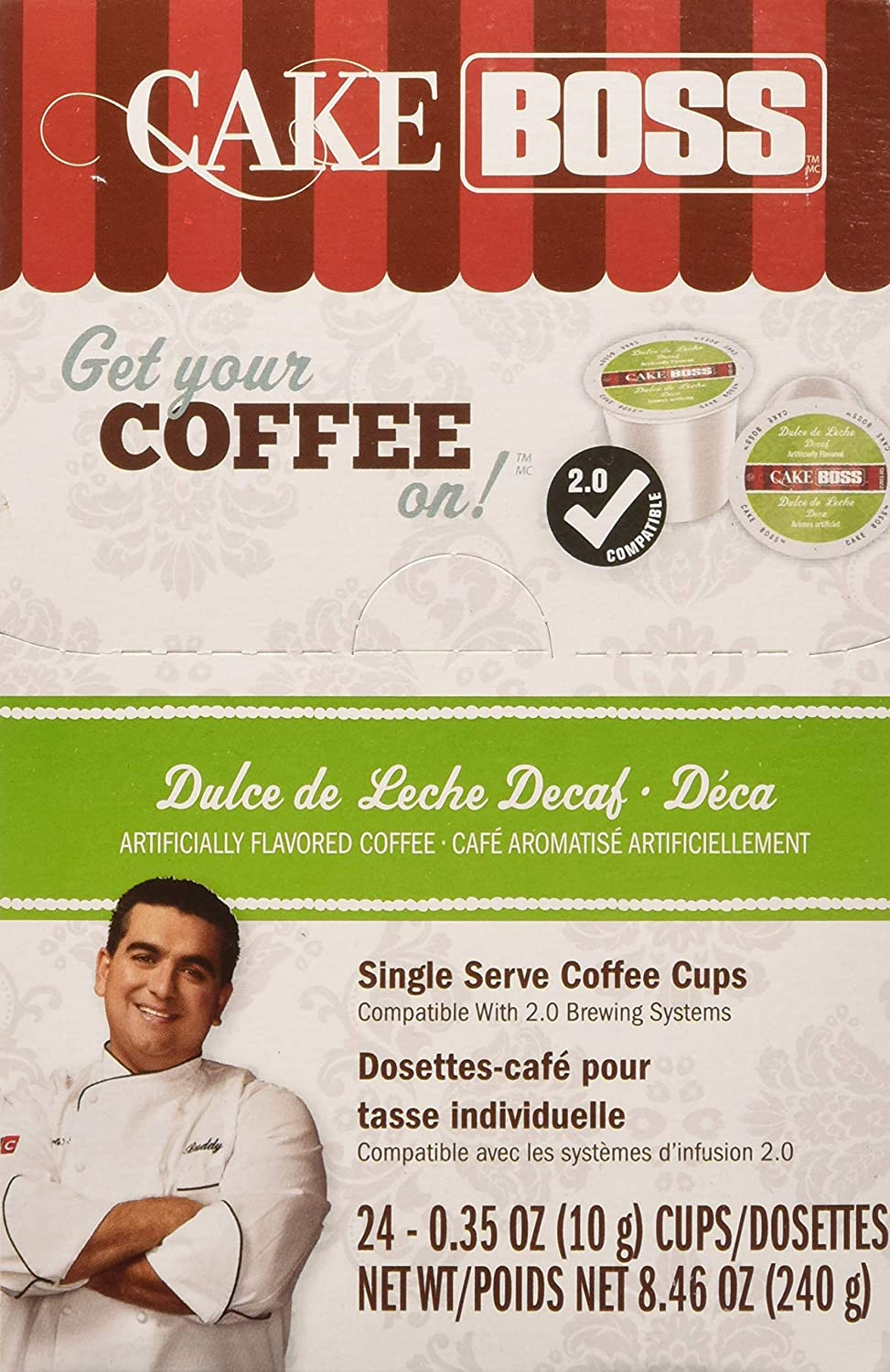 Cake Boss Coffee Dulce De Leche Decaf, 24 Count: Amazon.com: Grocery & Gourmet Food