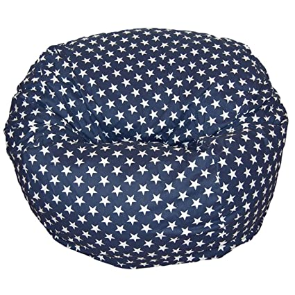 Aart Star Pattern Digitally Printed Canvas Bean Bag With Beans Extraordinary Bean Bag Pattern