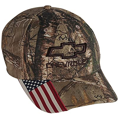 Chevrolet Realtree Camo Hat One Size at Men's Clothing store [5Bkhe1002474]