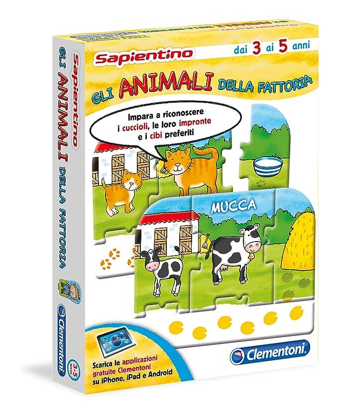 150 opinioni per Clementoni 12896- Sapientino Tessere Illustrate Gli Animali della Fattoria