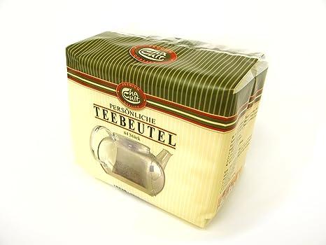 Amazon.com: Personal bolsas de té – 64 Piezas) – PREMIUM ...