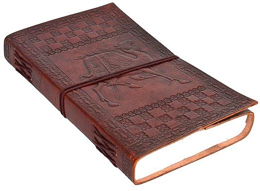 """28 opinioni per Gusti Pelle nature """"Daniella"""" Libro Block Notes Blocco per Appunti DIN A5 Diario"""