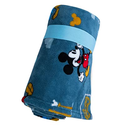 Disney Mickey Mouse, Donald Duck, and Pluto Fleece Throw -: Home & Kitchen