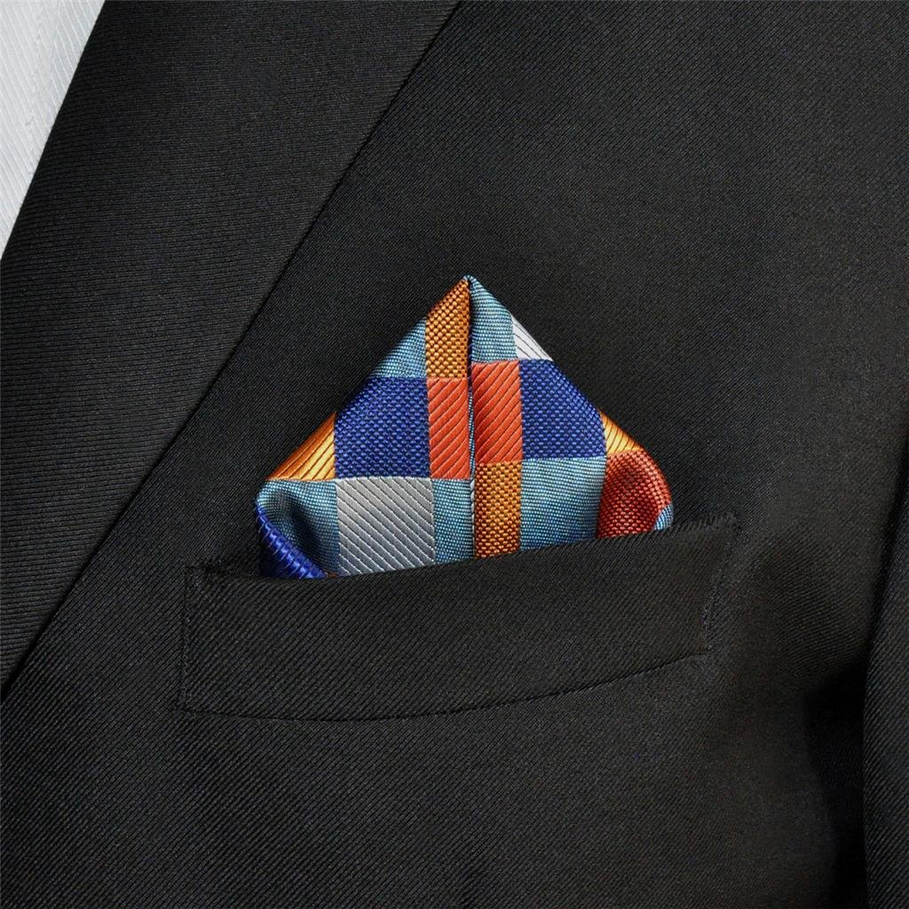 Einstecktuch Corbata shlax/&wing para hombre multicolor Normal Krawatte 57.5x3.15