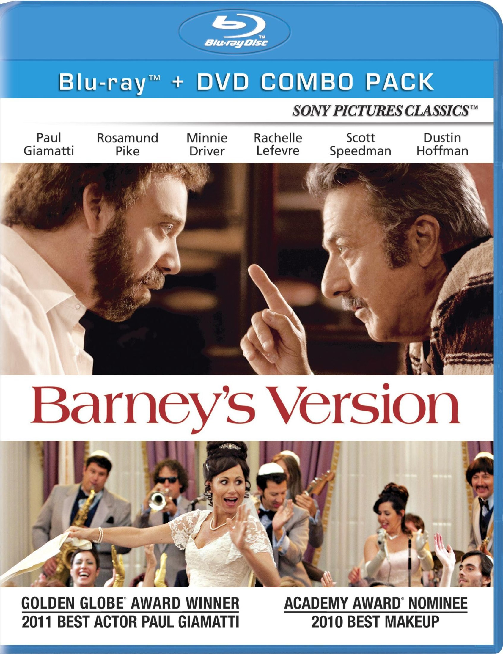 Blu-ray : Barney's Version (With DVD, , Dolby, AC-3, Widescreen)