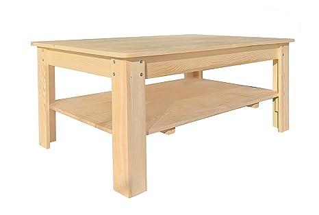 Tavolini In Legno Arte Povera : Rebecca srl tavolo tavolino da salotto mobile porta tv scaffale