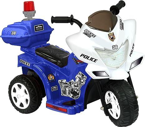 Amazon.com: Automóvil Lil Patrol de 6 V, azul y ...