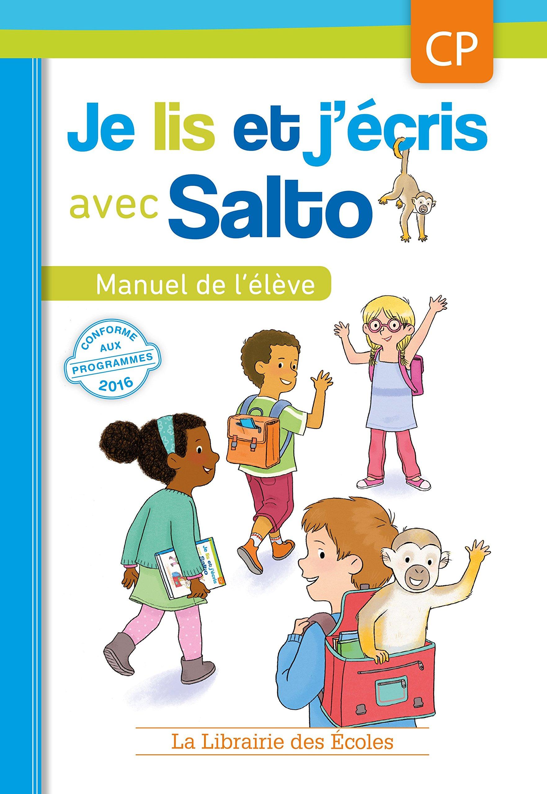 Amazon.fr   Je lis et j'écris avec Salto   CP   Manuel de l'élève ...