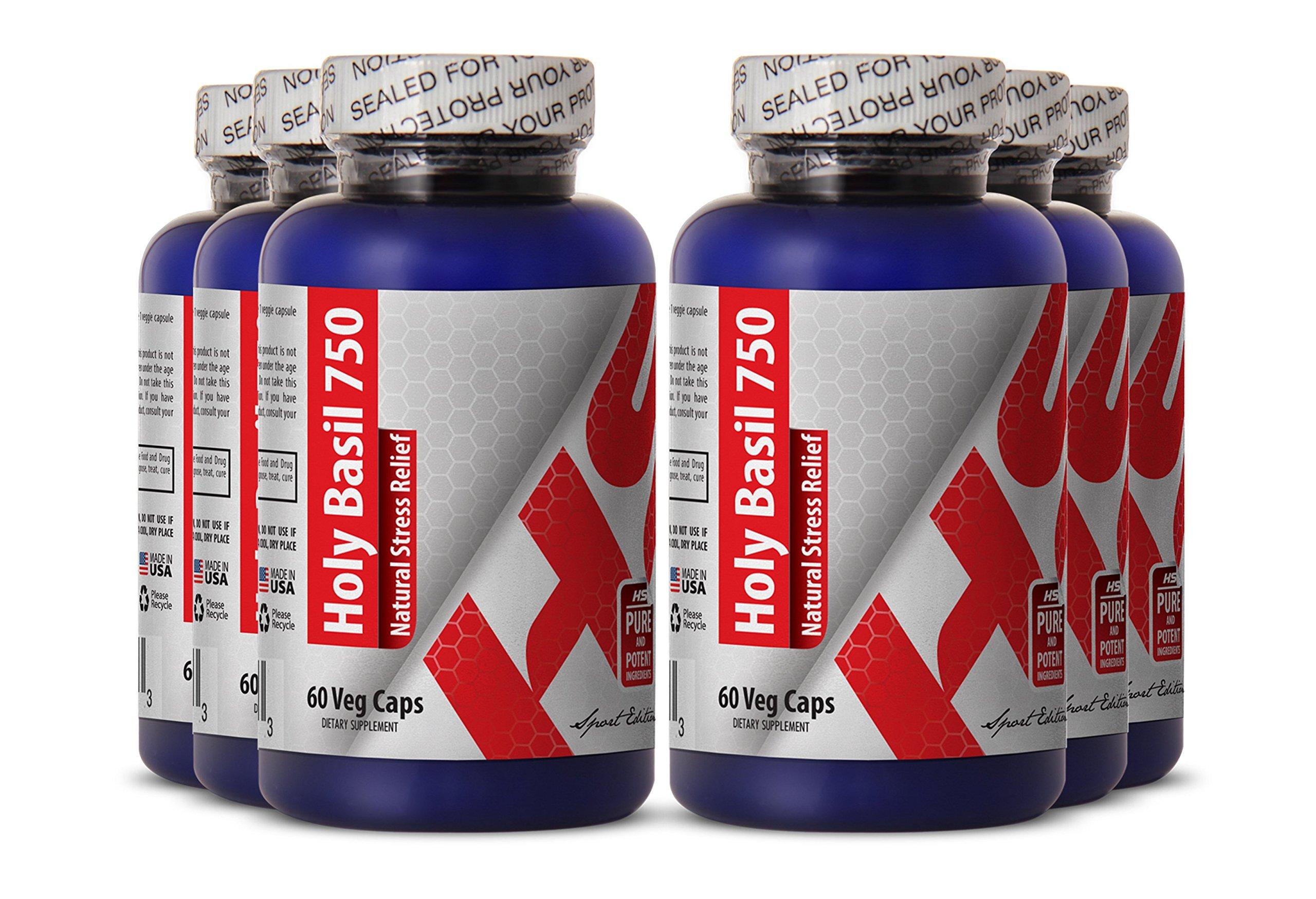 Holy basil leaf powder - HOLY BASIL EXTRACT -promote digestion (6 bottles)