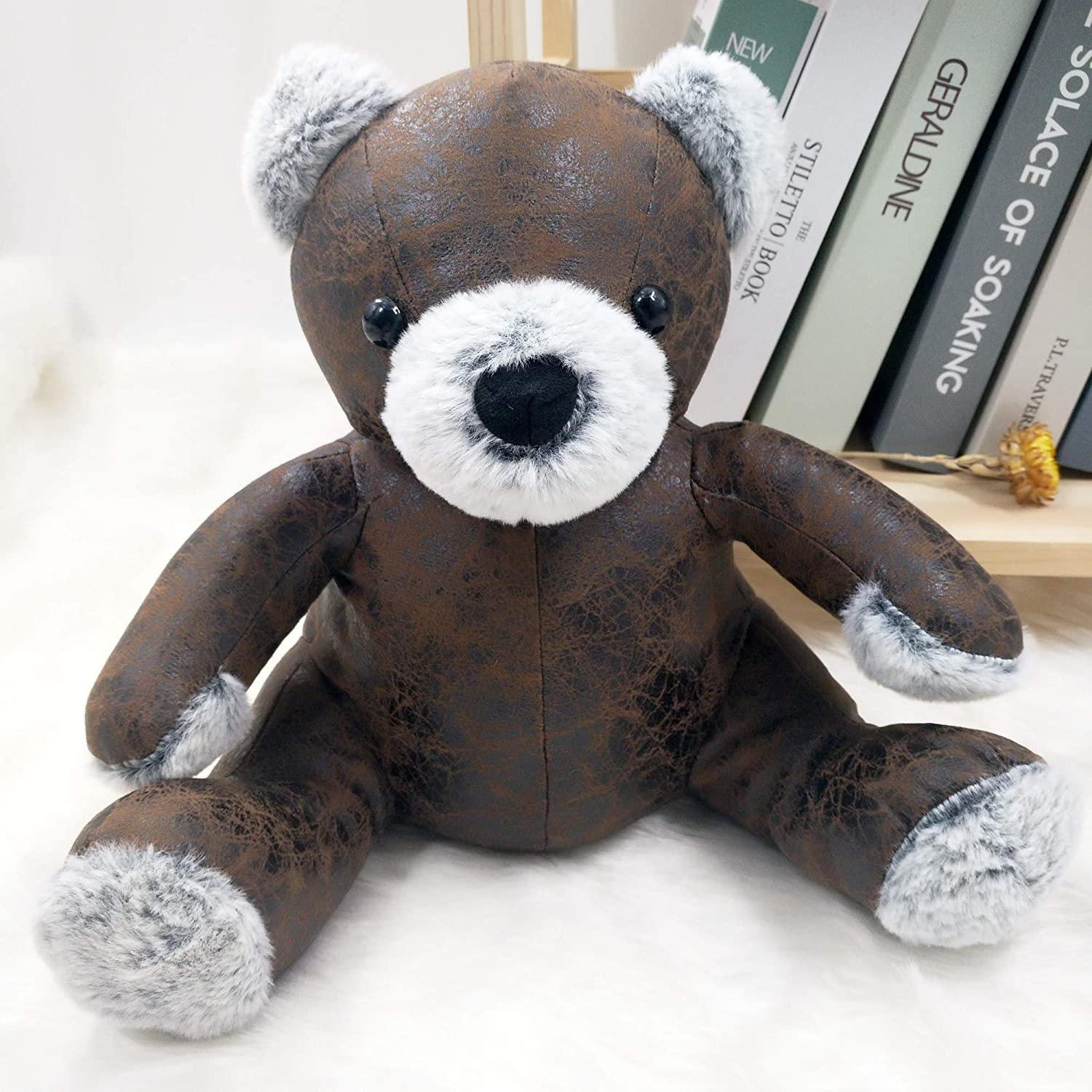 Fabric Animal Door Stopper Housewarming Gifts Doorstops Book Stopper Wall Protectors Anti Collision Cute Bear