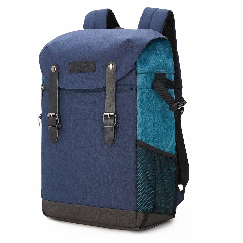 BAGSMART Professioneller SLR / DSLR Kamera-Rucksack mit Laptopfach Grau BAGou028017008-FDE