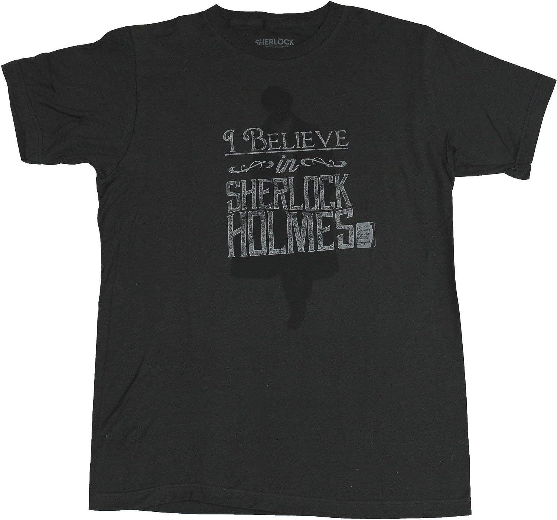"""SHERLOCK HOLMES /""""I BELIEVE IN SHERLOCK HOLMES/"""" HOODIE NEW"""