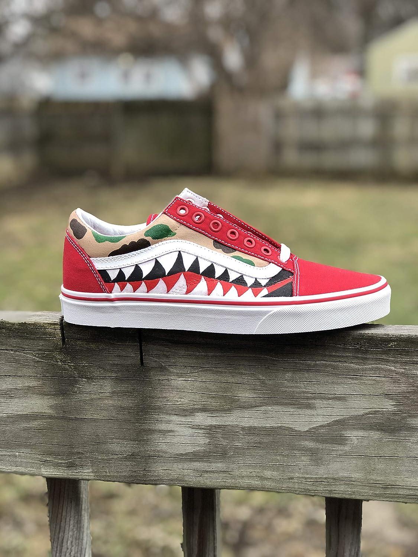 Amazon.com: Custom Bape Vans: Handmade
