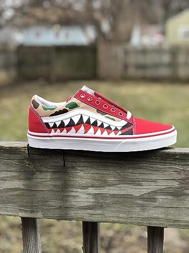 05f63d381f1 Amazon.com  Custom Bape Vans  Handmade