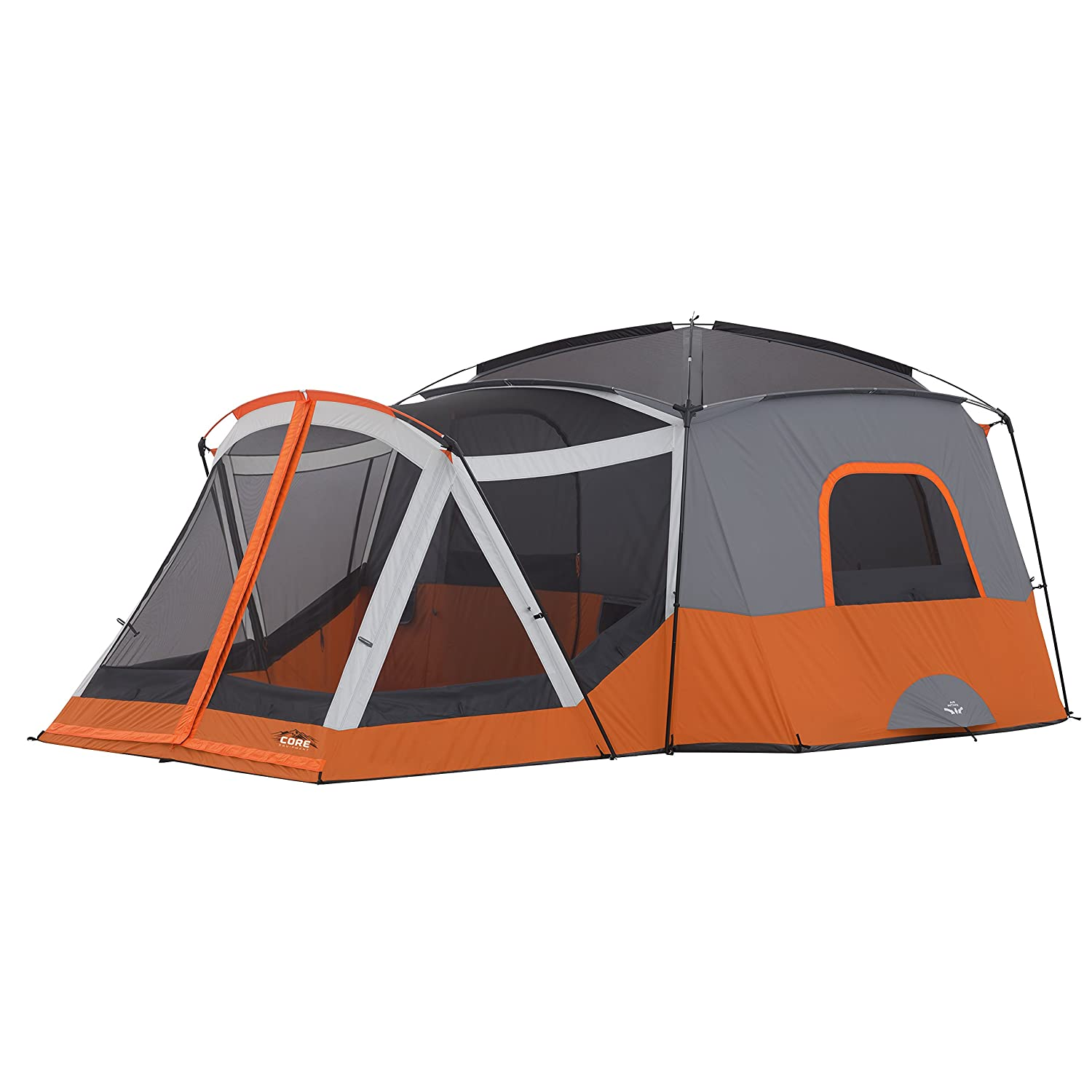 Amazon.com  CORE 11 Person Family Cabin Tent with Screen Room (Orange)  Sports u0026 Outdoors  sc 1 st  Amazon.com & Amazon.com : CORE 11 Person Family Cabin Tent with Screen Room ...