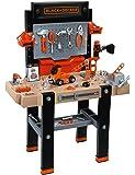 Smoby Black & Decker Brocolo Ultimate - juguetes de rol para niños (DIY, Negro, Gris, CR2032)