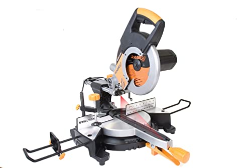 Evolution Power Tools RAGE3 10-Inch Multipurpose Cutting Compound Sliding Miter Saw