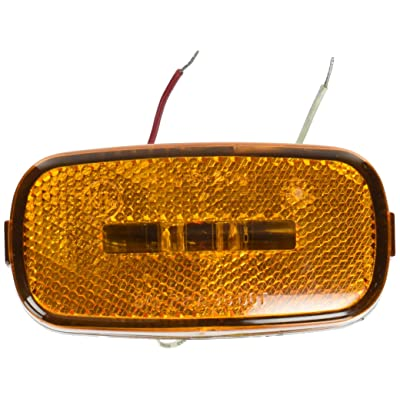 Kaper II L14-0104A-BLK Amber 2 Diode LED Marker Light: Automotive