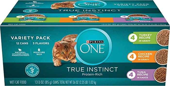 Top 10 Purina One Wet Cat Food Variety
