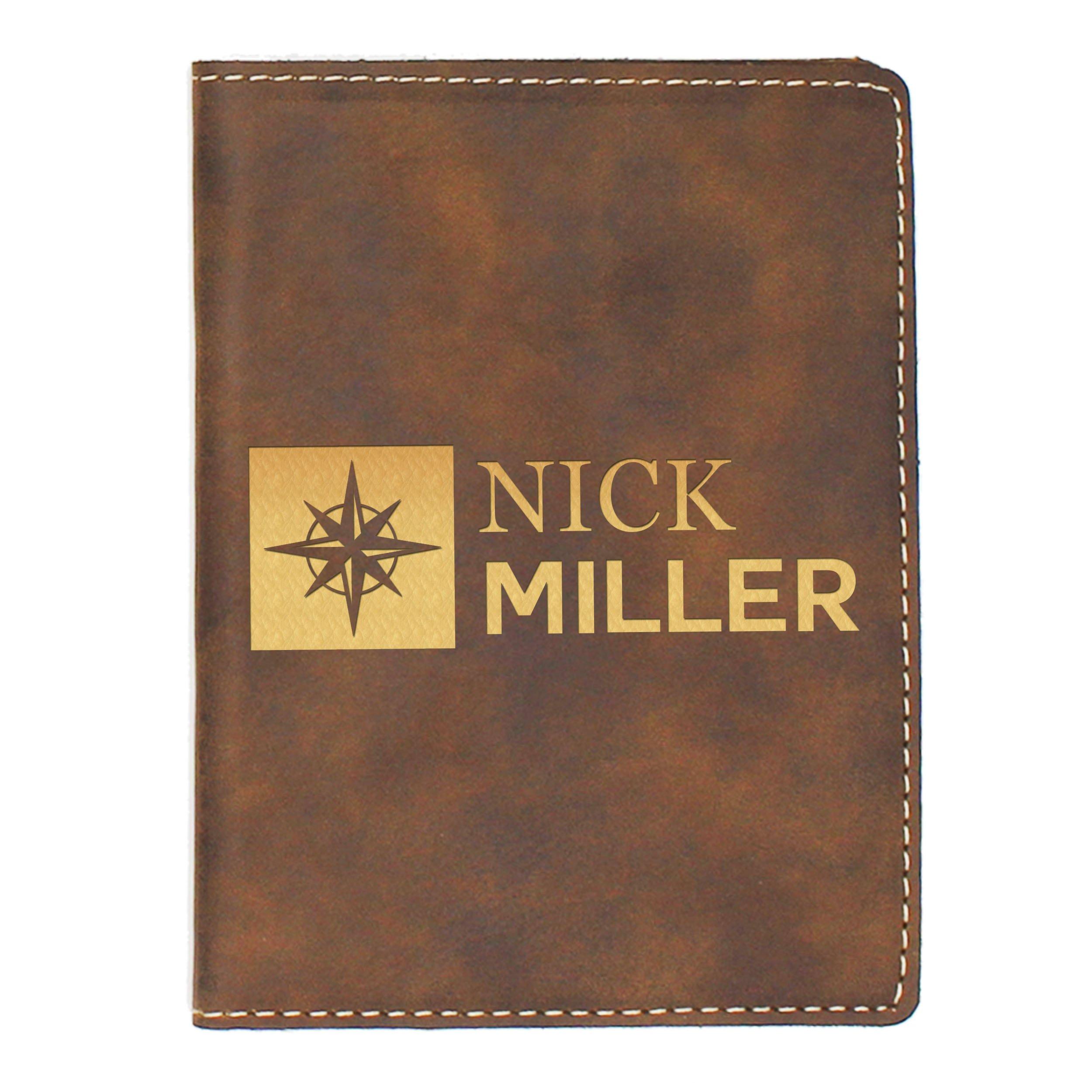 Personalized Passport Cover - Custom Travel Holder - Monogrammed for Free