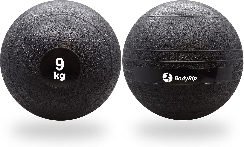 BodyRip - Balón Medicinal (9 kg, no rebota): Amazon.es: Deportes y ...