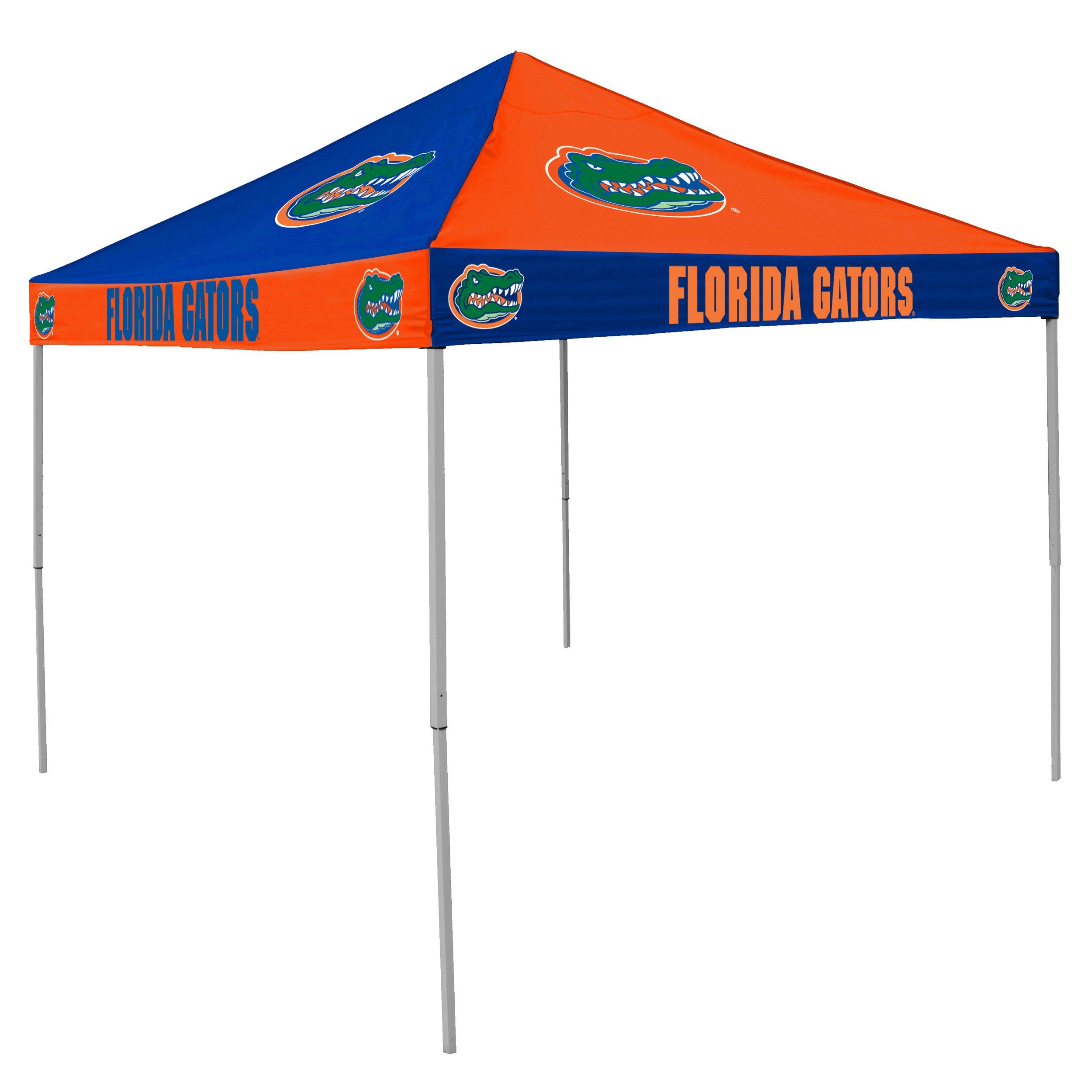 NCAA Florida Gators 9-Foot x 9-Foot Pinwheel Tailgating Canopy, Orange/Blue by Logo Brands