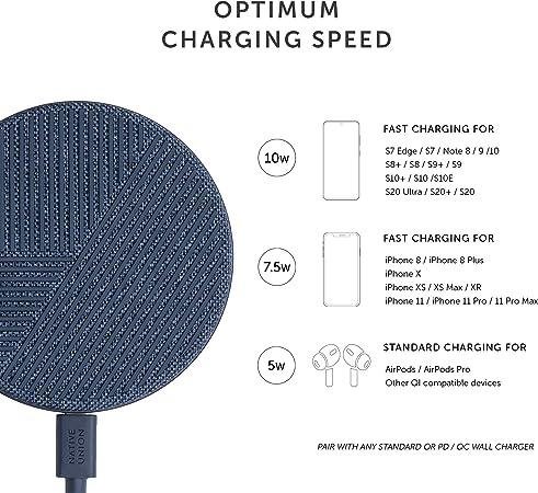 Native Union Drop Wireless Charger 10w Fast Charging Elektronik