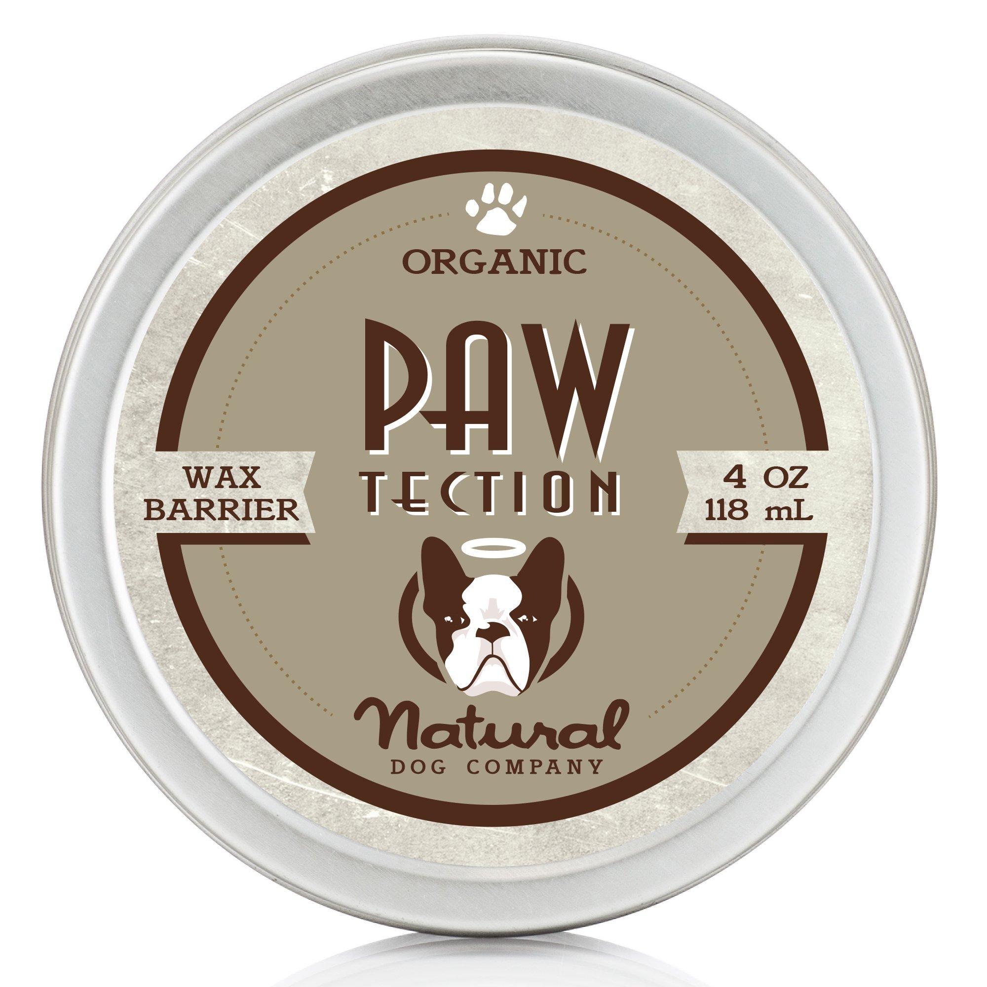 NaturalDog.com PAWTECTION | Organic, All Natural | For Protecting Paw Pads | 4 oz Tin