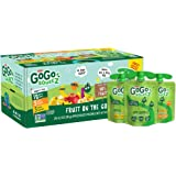 GoGo squeeZ Applesauce, Variety Pack (Apple/Banana/Mango), 3.2 Ounce (20 Pouches), Gluten Free, Vegan Friendly…