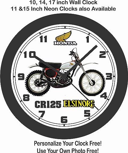 Amazon Com Jims Classic Clocks 1976 Honda Cr125 Elsinore Big 10