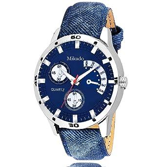 Buy Mikado Denim fashion Opera Analog watch for Men\'s and boy\'s ...