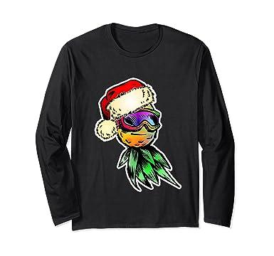 2b2288babab5 Amazon.com  Funny Santa Claus Hawaiian Shirt Summer Christmas Clothes   Clothing