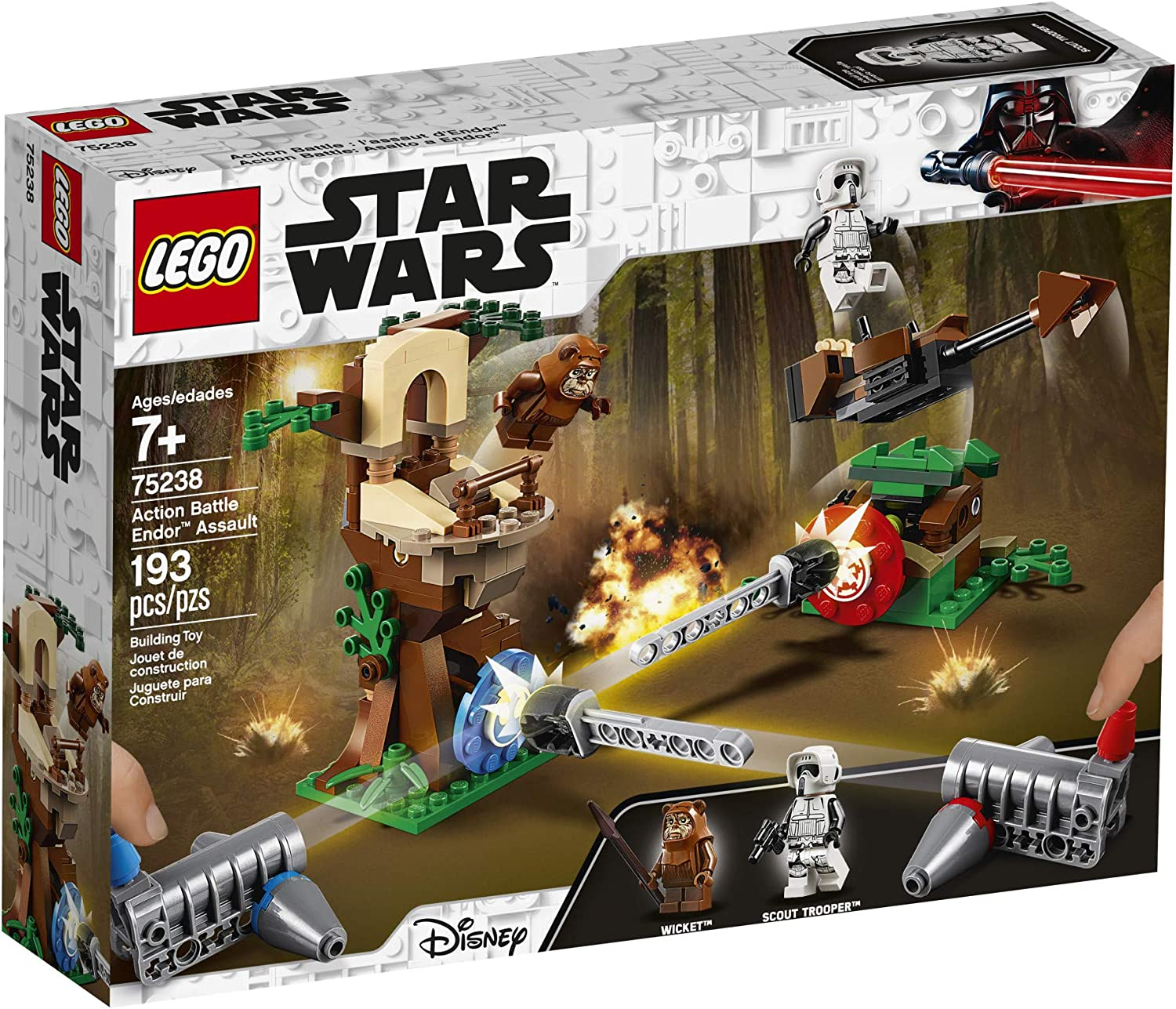 LEGO Star Wars Action Battle Endor Assault Set 75238