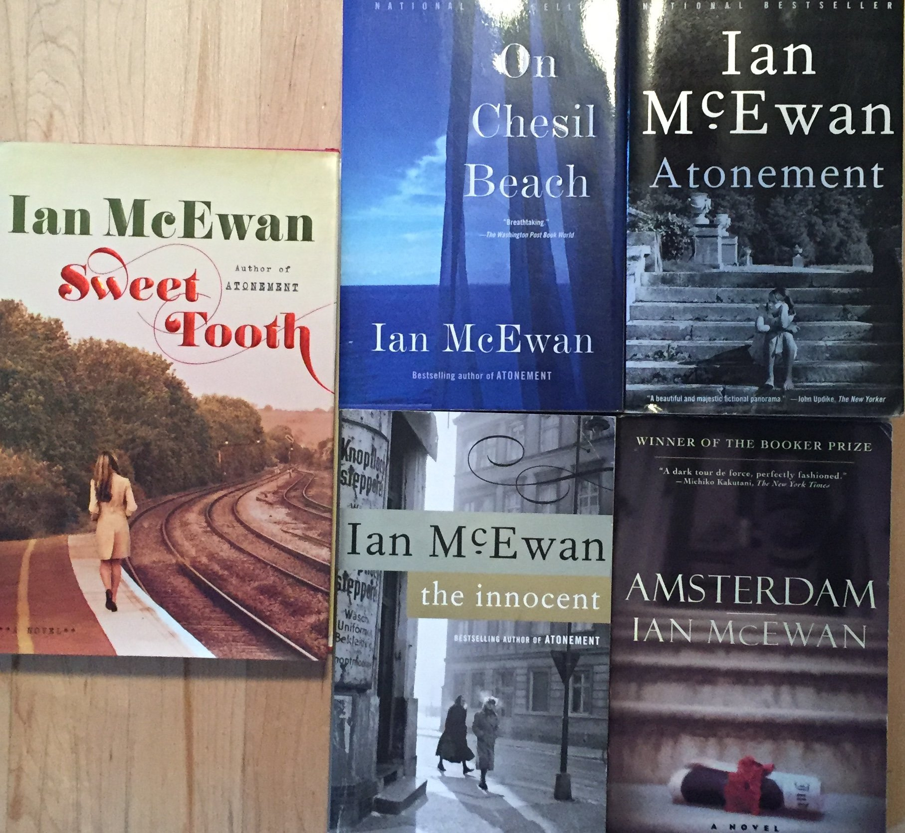 Ian Mcewan Novel Collection 5 Book Set: Ian Mcewan: 0746278844211:  Amazon: Books