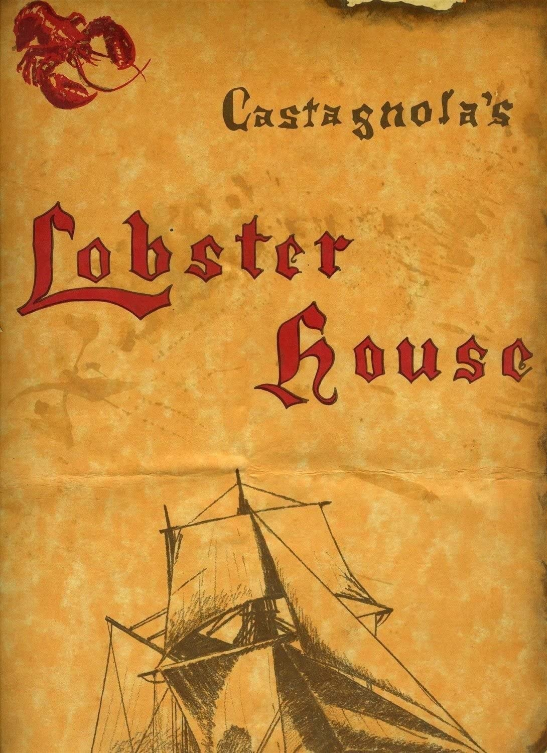 Lobster House Menu Southern California ...