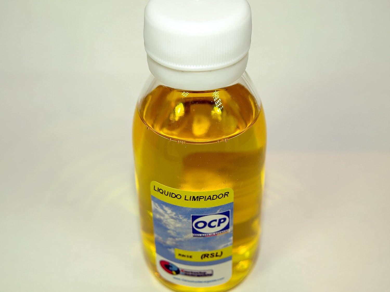 Cartuchorecargable RSL-Rinse-Amarillo, Liquido Limpiador Rinse-RSL ...