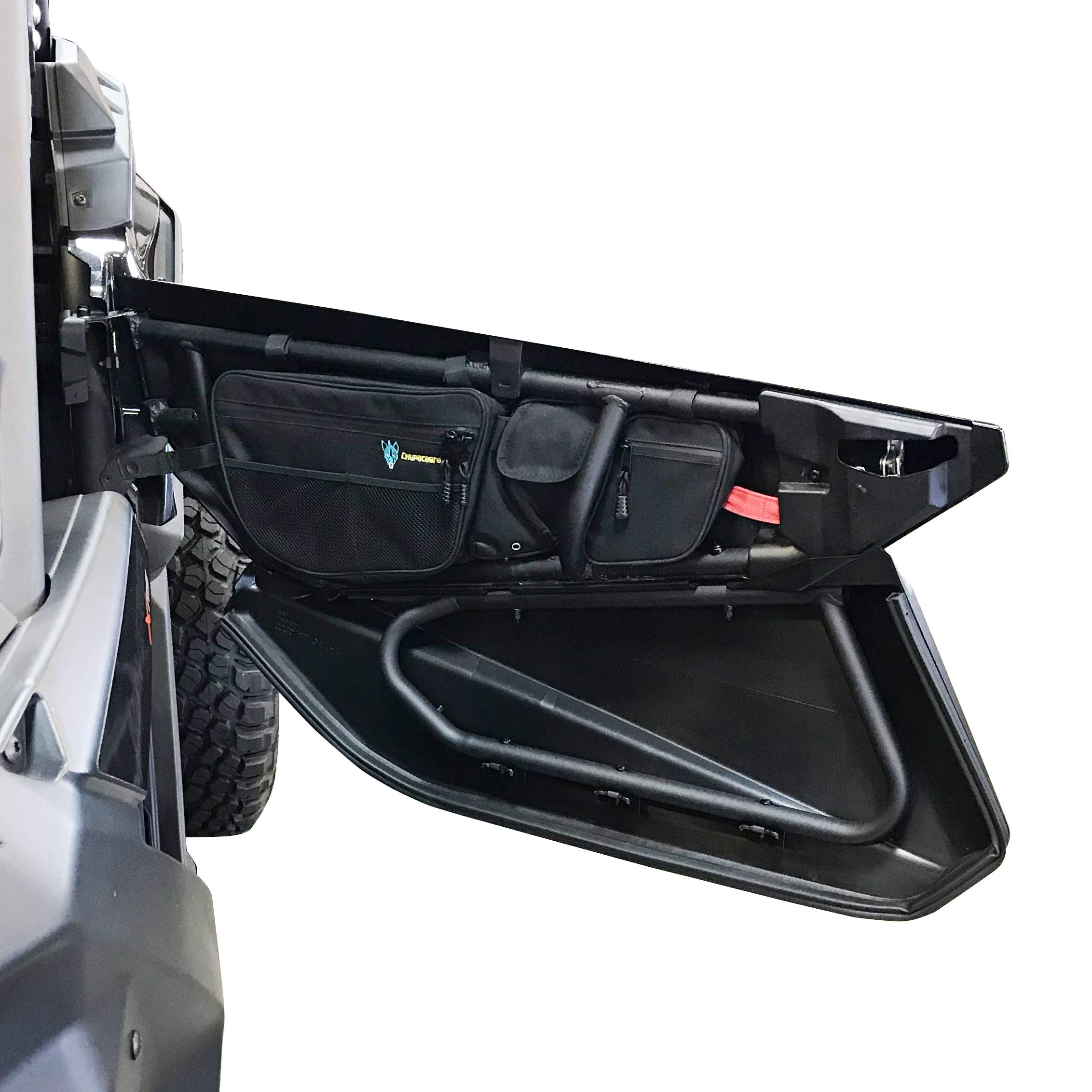 Can Am X3 Door Bags - Set of Two Right & Left by Chupacabra Offroad