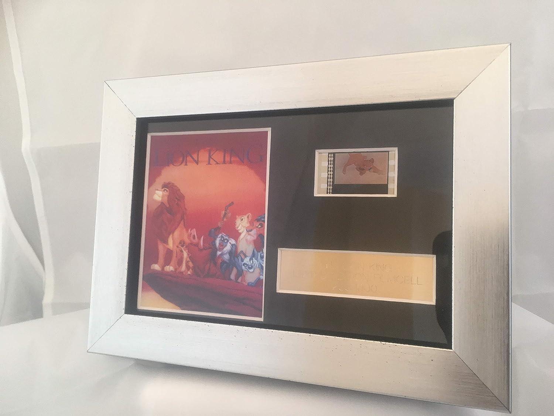 Filmcell Factory Ltd Placa con fotograf/ía y negativo de la pel/ícula El Rey Le/ón de Disney edici/ón limitada