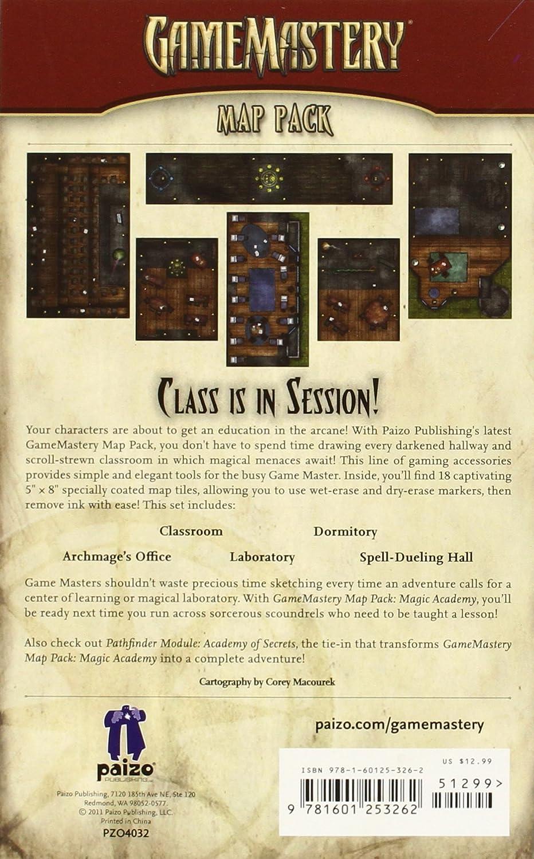 GameMastery Map Pack: Magic Academy: Macourek, Corey, Staff, Paizo: Amazon.es: Juguetes y juegos