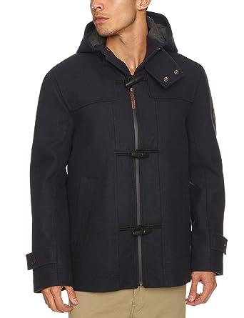 Timberland Contemporary Waterproof Wool Duffle Men's Coat Dark ...
