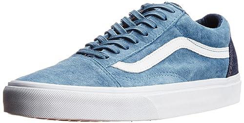 2684c19870 Image Unavailable. Image not available for. Colour  Vans Men s Old Skool  Reissue Ca Copen Blue Canvas Sneakers - 12 UK