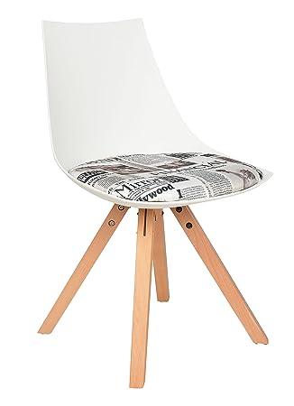 ts-ideen 1x Design Küchen Stuhl Esszimmer Büro Sitz Polster ...