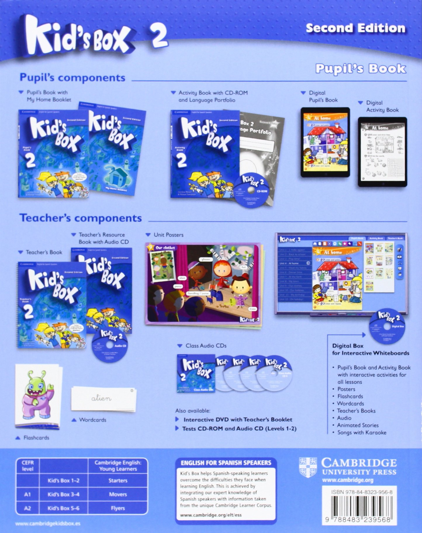 Kid's Box for Spanish Speakers Level 2 Pupil's Book with My Home Booklet Second  Edition - 9788483239568: Amazon.es: Caroline Nixon, Michael Tomlinson, ...