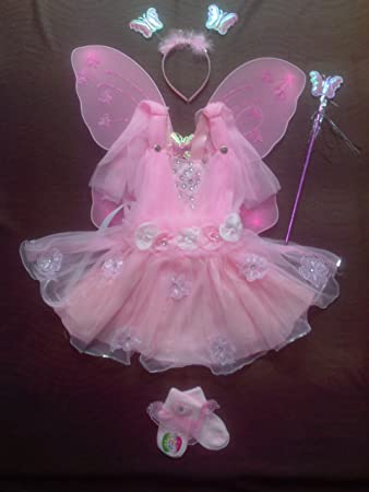 b0e8a5063 Buy Baby Girl Birthday Party Costume dress set with Butterfly wings ...