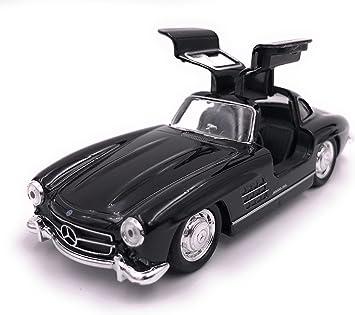 H Customs Mercedes Benz 300 Sl Modellauto Auto Lizenzprodukt 1 34 Zufällige Farbauswahl Auto