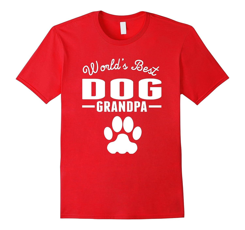 World's Best Dog Grandpa T-Shirt-BN