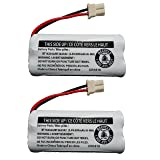 Replacement Battery BT162342 / BT262342 for Vtech AT&T Cordless Telephones CS6114 CS6419 CS6719 EL52300 CL80111 (2-Pack) (Tamaño: 2-Pack)